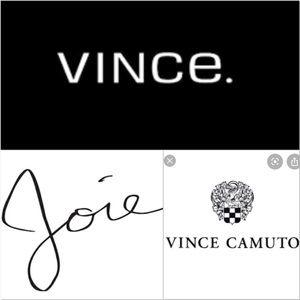 Joie, Soft Joie, Vince Camuto, Vince clothing/etc
